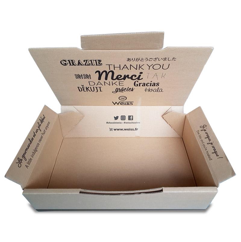 Boite carton ecommerce