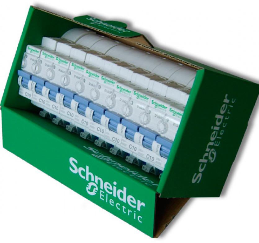 Calage carton Schneider Electrics