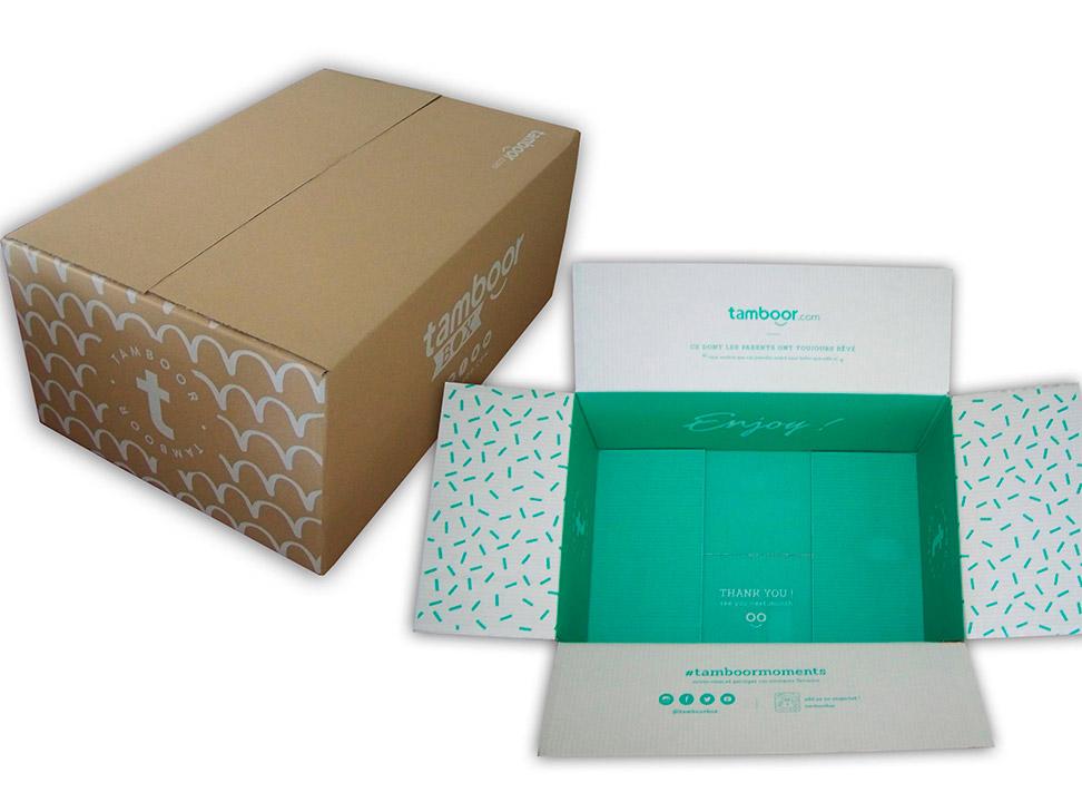 Carton ecommerce Tamboor