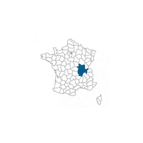 couverture géographique Cartonnages du Beaujolais