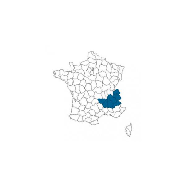 couverture géographique Cartonnages du Dauphiné