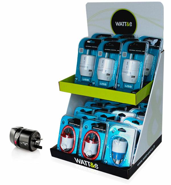 Display adaptateur Watt&Co